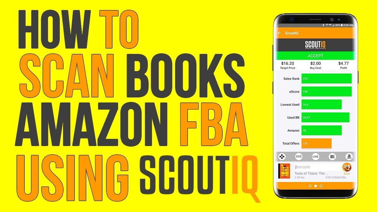 sell books amazon fba