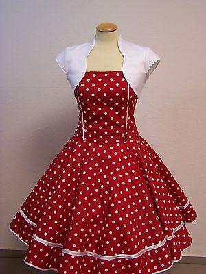 Petticoat kleid rot kariert