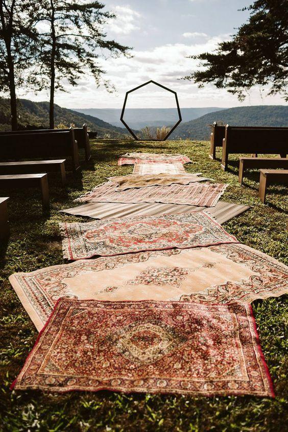 15 wedding Boho hippie ideas