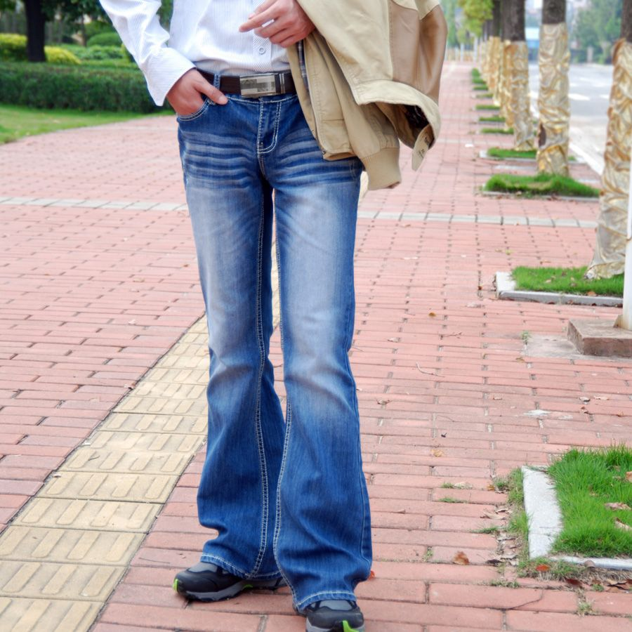 Find More Information about Classic Sexy Big Boot Cut Men Jeans ...