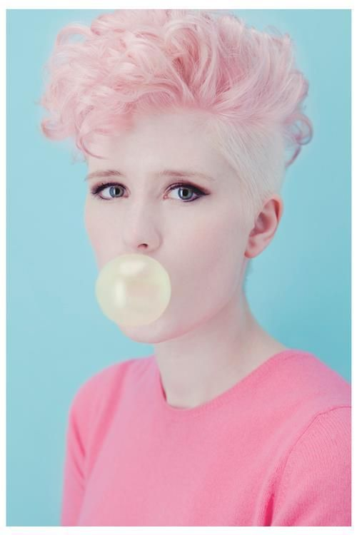 Pink And Blond Hair Dyed Hair Pastel Hair Pinterest Blond - Hairstyles for short hair on tumblr