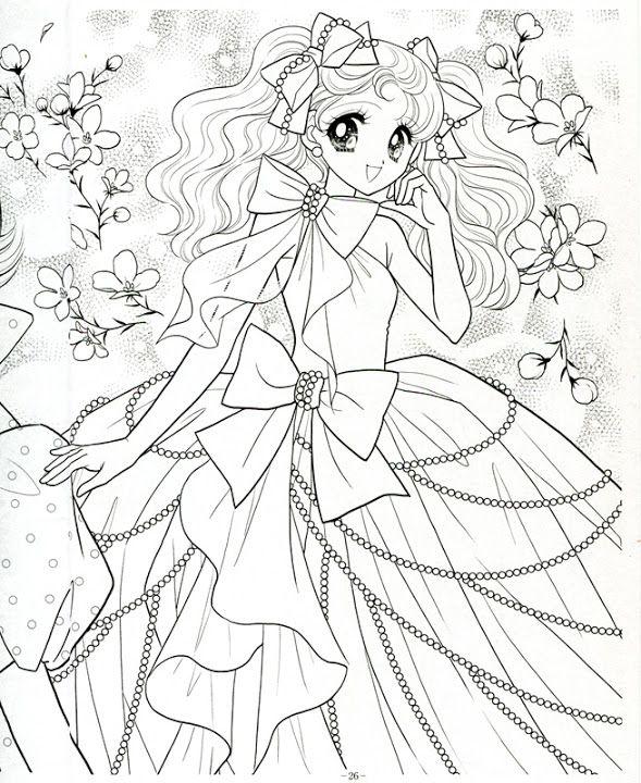 Japanese Shoujo Coloring Book 3 Mama Mia Picasa Web Albums Coloring Books Cute Coloring Pages Coloring Pages