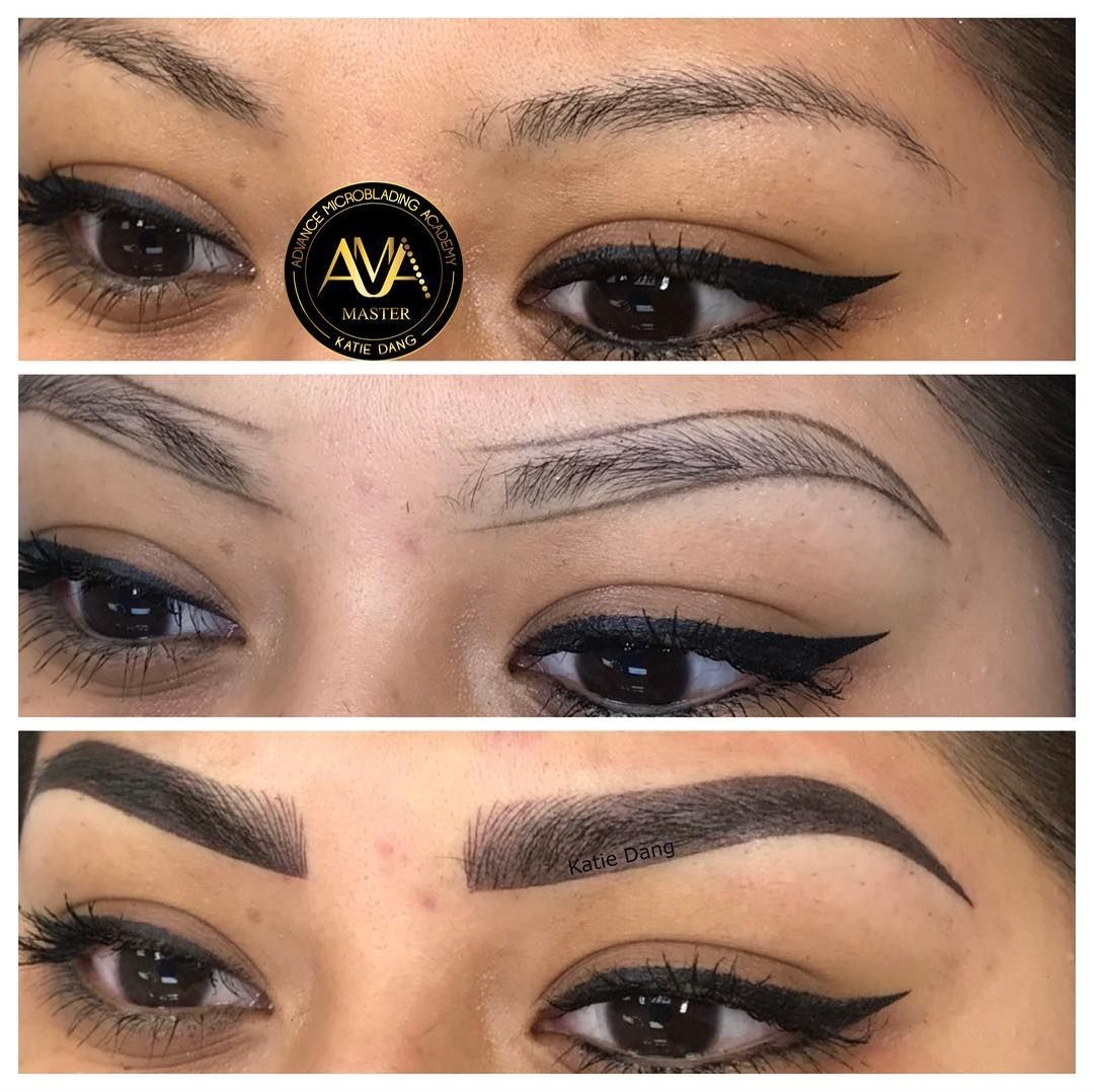 Microblading & Shading by Katie Dang. Service & Training