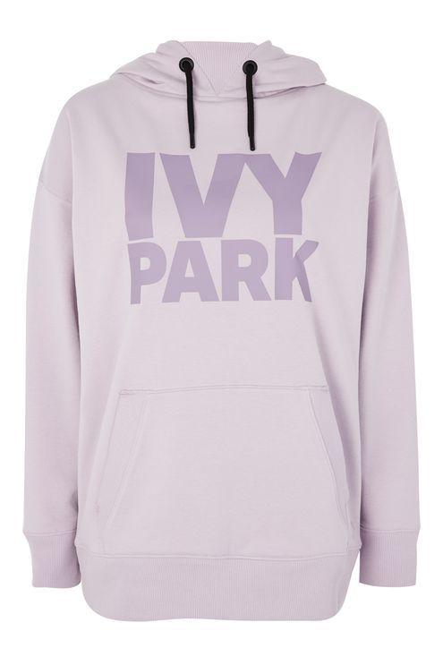 Logo Oversized Hoodie by Ivy Park | Hoodies, Pink hooded