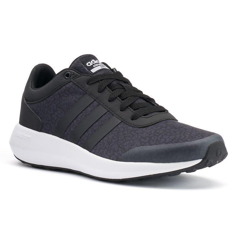 promo code 80080 5c04d Adidas NEO Cloudfoam Race Women s Leopard Print Sneakers, Size