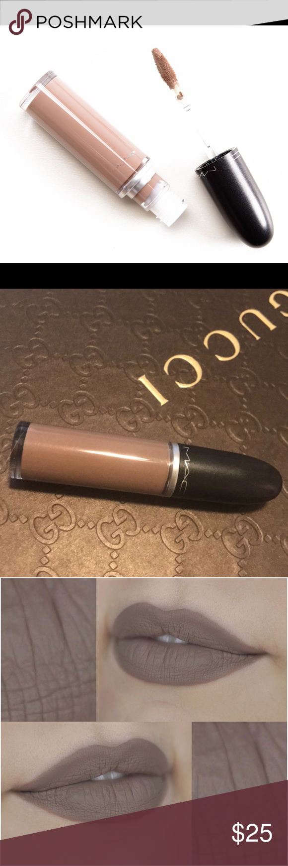 MAC RARE DISC Retro Matte Lip FLESH STONE NWT MAC