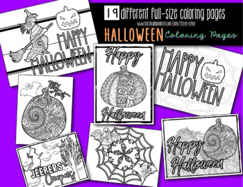 Halloween Coloring Pages Halloween Coloring Halloween Coloring Pages Halloween