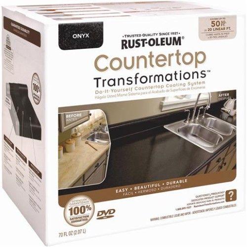Cabinet Amp Countertop Paint Rust Oleum Transformations
