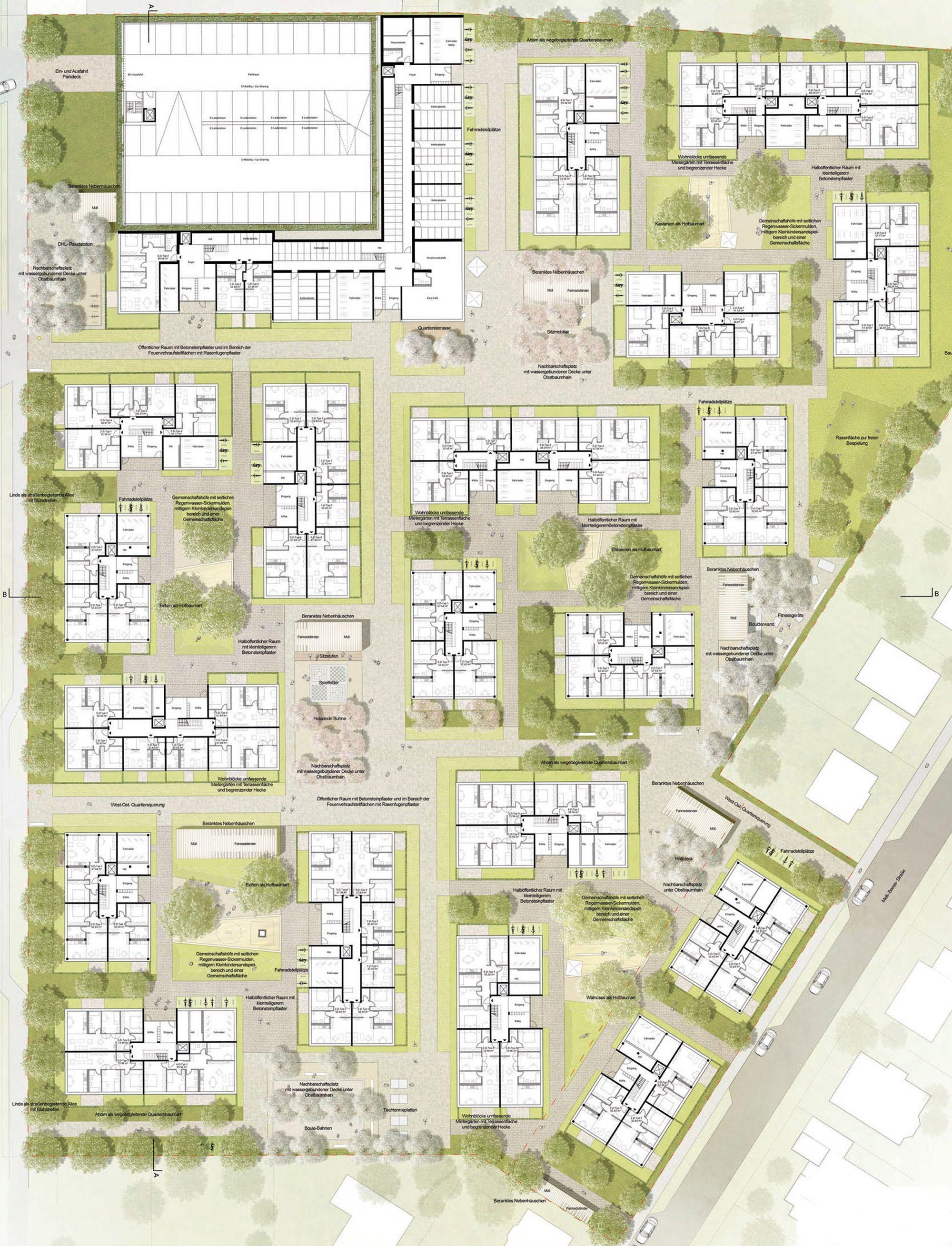 Ergebnis: Straße am Flugplatz / Melli-Beese-Straße...competitionline #architekturdiagramme