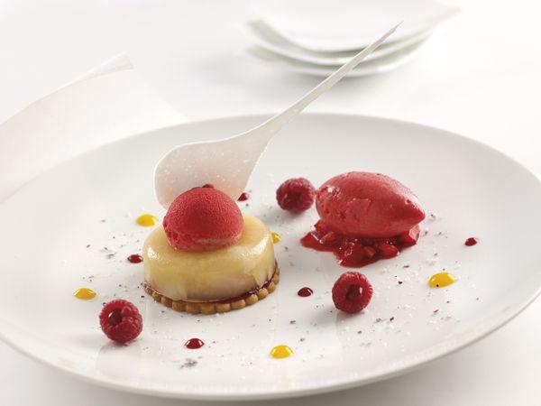 idée dessert gastronomique