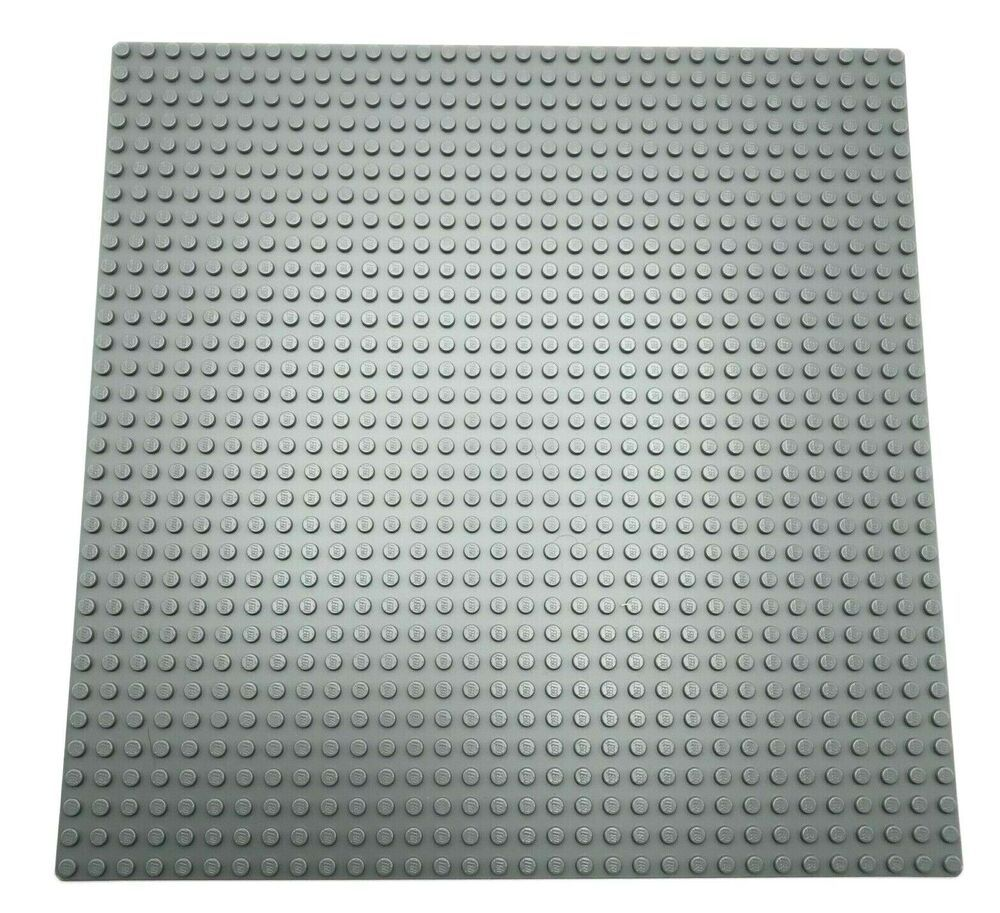 New LEGO Lot of 4 Dark Bluish Gray 4x6 Flat Building Plate Pieces