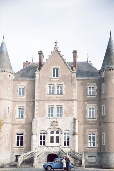 Elegant Vintage Weddings (With images) French chateau