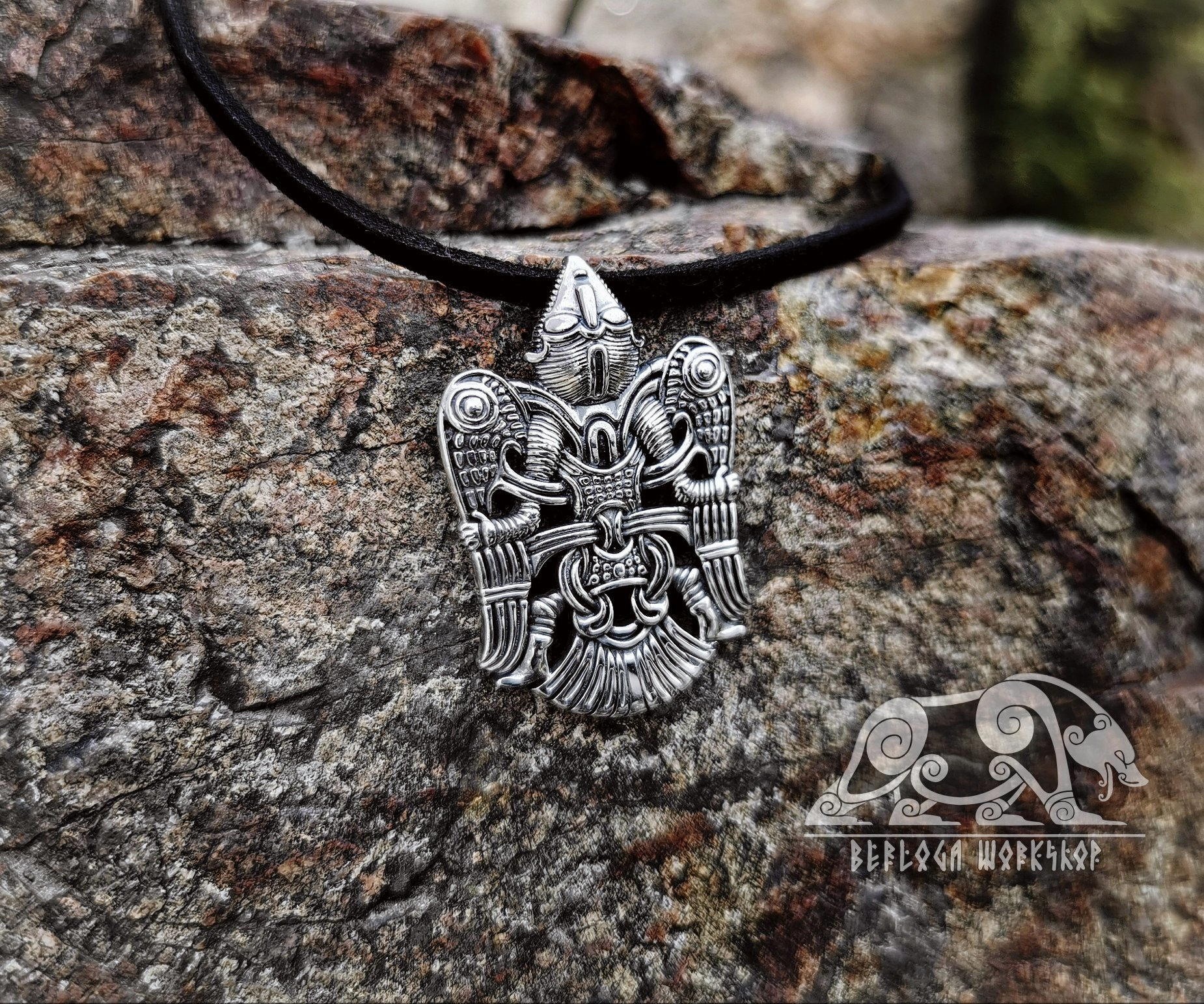 Winged Man Viking Pendant Replica From Uppakra In Sweden Sterling Silver Viking Necklace Scandinavian Norse Viking Jewelry Viking Necklace Viking Pendant Viking Jewelry