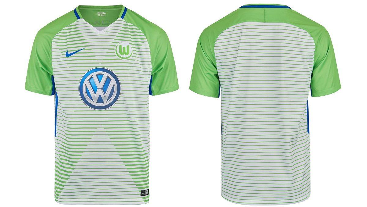 eded938c81 Camisas do Wolfsburg 2017-2018 Nike