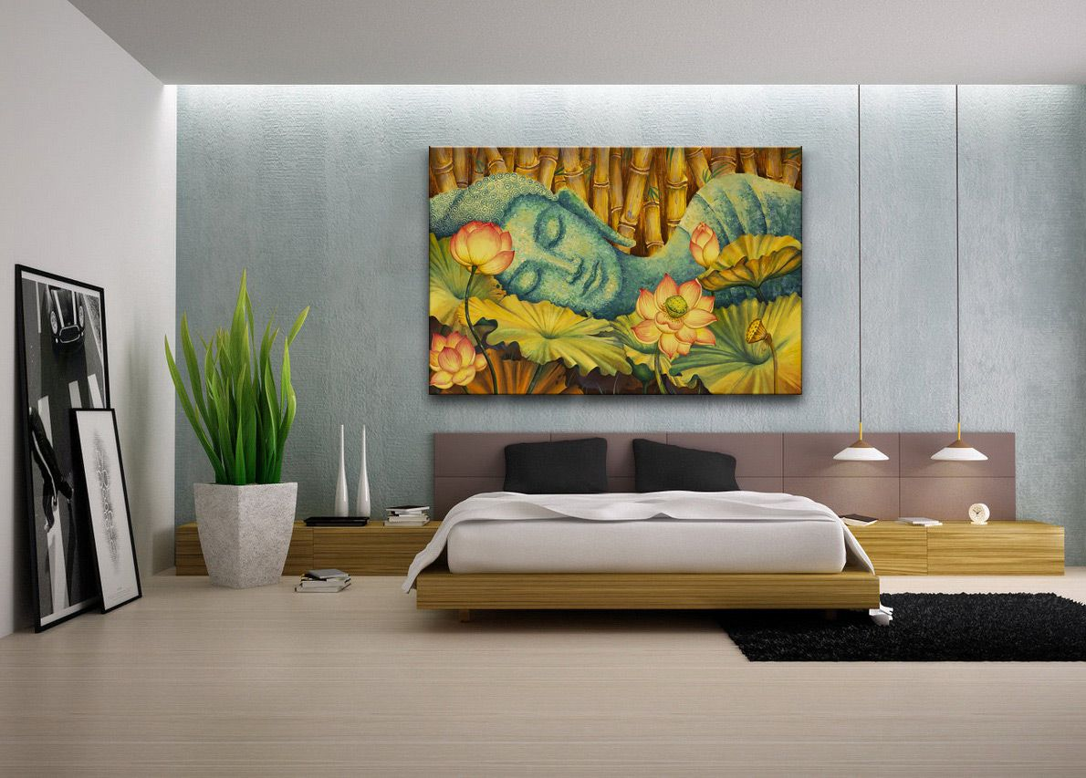 Bedroom The Bedroom Art Ideas To Make Your Bedroom Interior Fancy Bedroom Canvas Oil Painting For Bedroom Art Ideas Decoracao Casas
