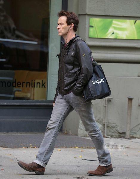Stephen Moyer in New York City