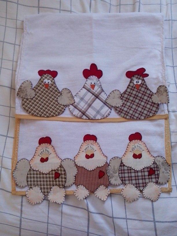 Pano de prato | Paschword | Pinterest | Hühner, Textilien und Selfmade