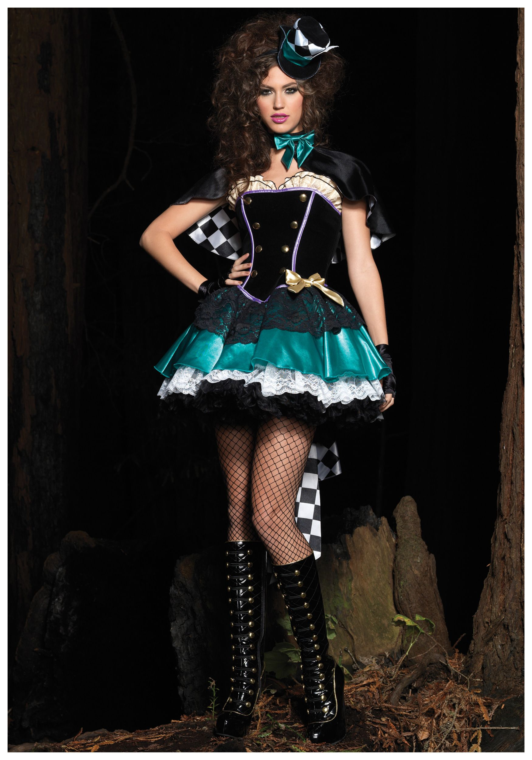 Deluxe Tea Time Mad Hatter Costume Mad hatter costume
