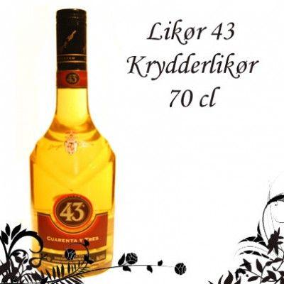 Likør 43, en af de mest kendte og elskede likører der findes på markedet. En likør bestående af mange ingredienser hvoraf vanilien fører an. #cocktails #bartender #cocktailbartender