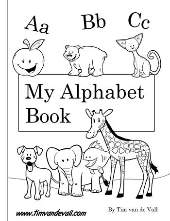 Free Printable Alphabet Book Pdf Printables For Preschool Preschool Alphabet Book Alphabet Book Free Printable Alphabet Letters