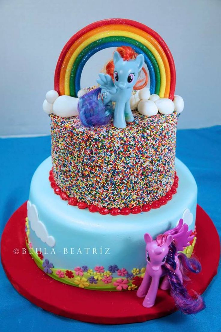 My little pony cake Likes Pinterest Pony cake and Cake