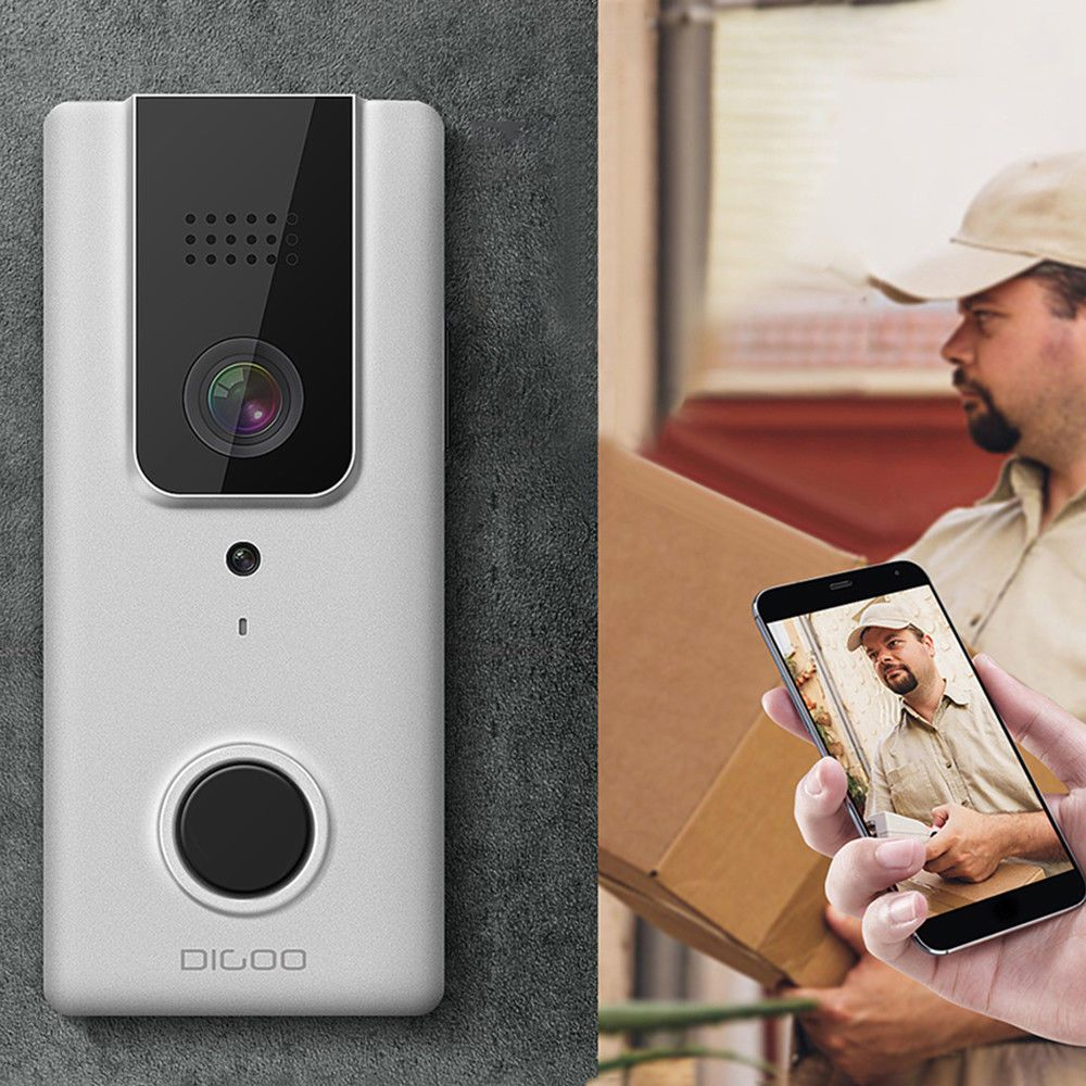 Upgrade Digoo WiFi Wireless Bluetooth Smart Video DoorBell