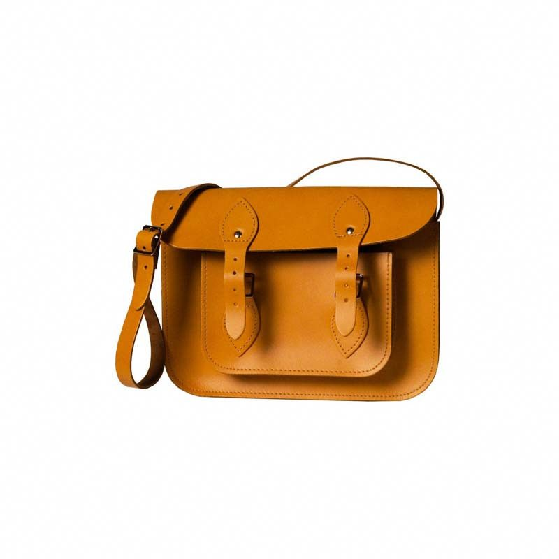 London Tan Leather Satchel – a classic and vintage look. Something The Original Satchel Store specialize in <3