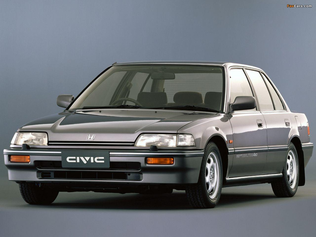 Honda Civic Sedan Ef 1988 91 Wallpapers 1280x960 Honda Civic