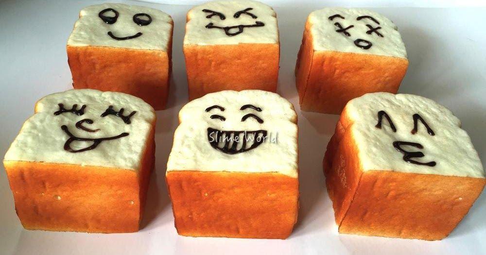 Membuat Squishy Bentuk Roti Tawar Sendiri Roti Bentuk Kreatif