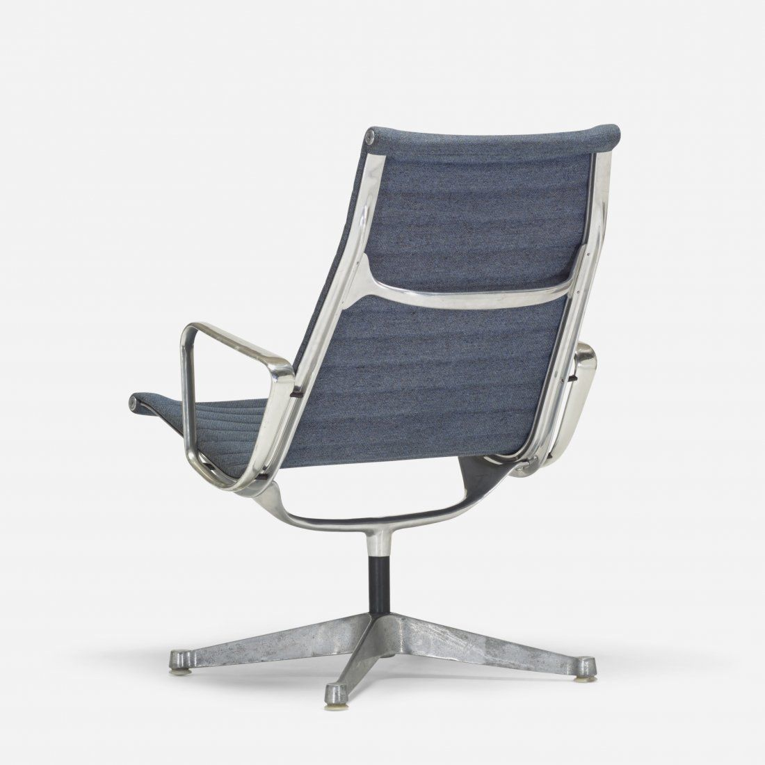 Charles and Ray Eames; 'Aluminum Group' Armchair for