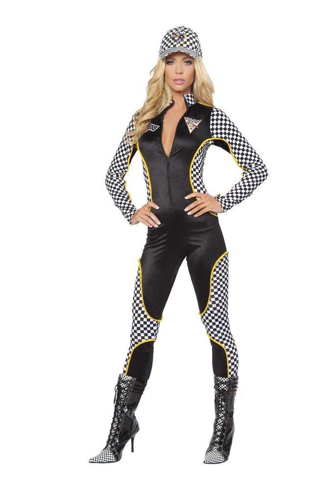 2aa05f61159d Sexy Women's Wanna Race Racer Nascar Halloween Show Costume Comic Con Roma  #Roma #CompleteCostume
