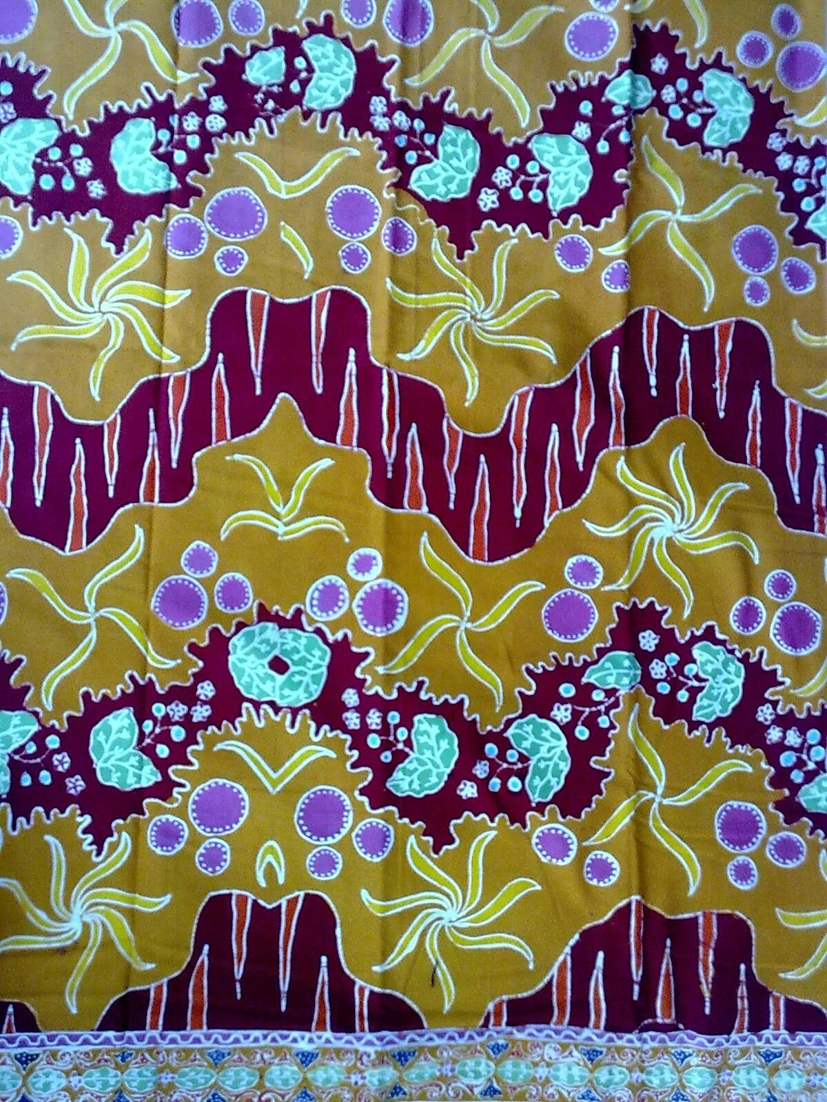 Batik Tulis Jember motif Lintang Tembakau | Kain, Desain ...