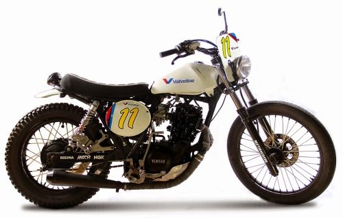 Yamaha Dirt Track by BBR #motorcycles #dirttrack #motos   caferacerpasion.com
