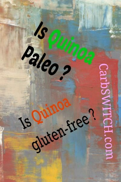 """Is Quinoa Paleo ? Is Quinoa gluten-free ? """"Quinoa is botanically not a grain, but because it has evolved in a similar biological niche, Quinoa has similar properties to grains, including chemical defense systems that irritate the gut. In the case of Quinoa, it contains soap-like molecules called saponins. Unlike gluten, which attaches to a …"""