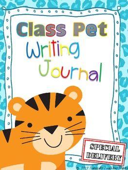 Class Pet Writing Journal Class Pet Journal Writing Kindergarten Writing