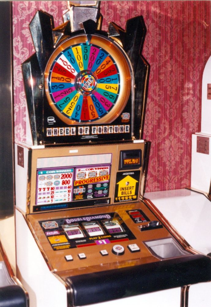 Wheel of fortune slot machines for sale casino players card information