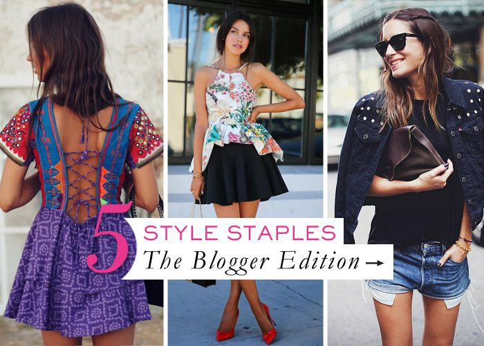 Check out the style must-haves to buy now thanks to our favourite bloggers. How to: Five summer wardrobe essentials | ModelCo