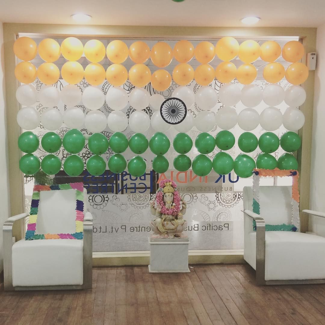 Office Decoration For Independence Day Indian Flag