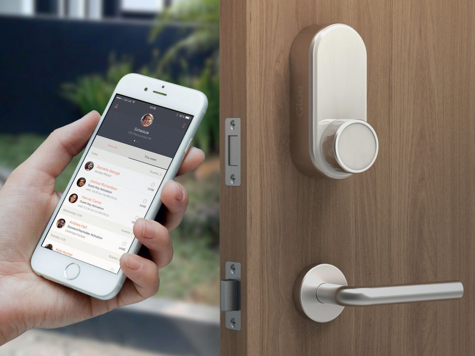 Merveilleux Glue Smart Lock 2.0 App Controlled Lock   Unlock Your Front Door With Your  Mobile Telephone. Your Own Digital Key! Www.CoolStuff.com