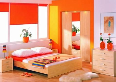 Sensations Of Colorful Space Through The Interior Wall Painting Bright Bedroom Color Ideas