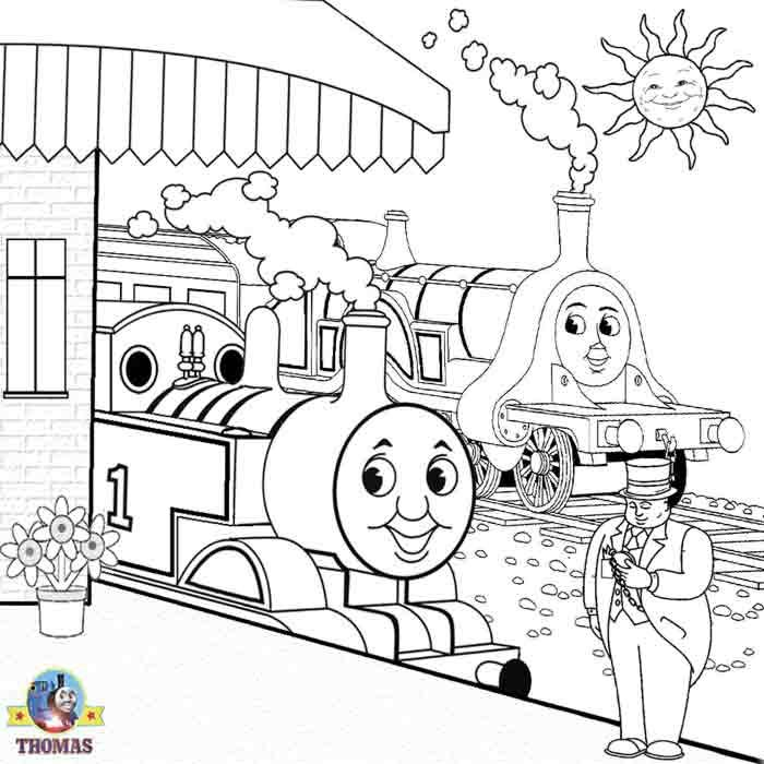 Sir+Topham+Hatt+Thomas+the+train+and+friends+kids+art+coloring+pages ...
