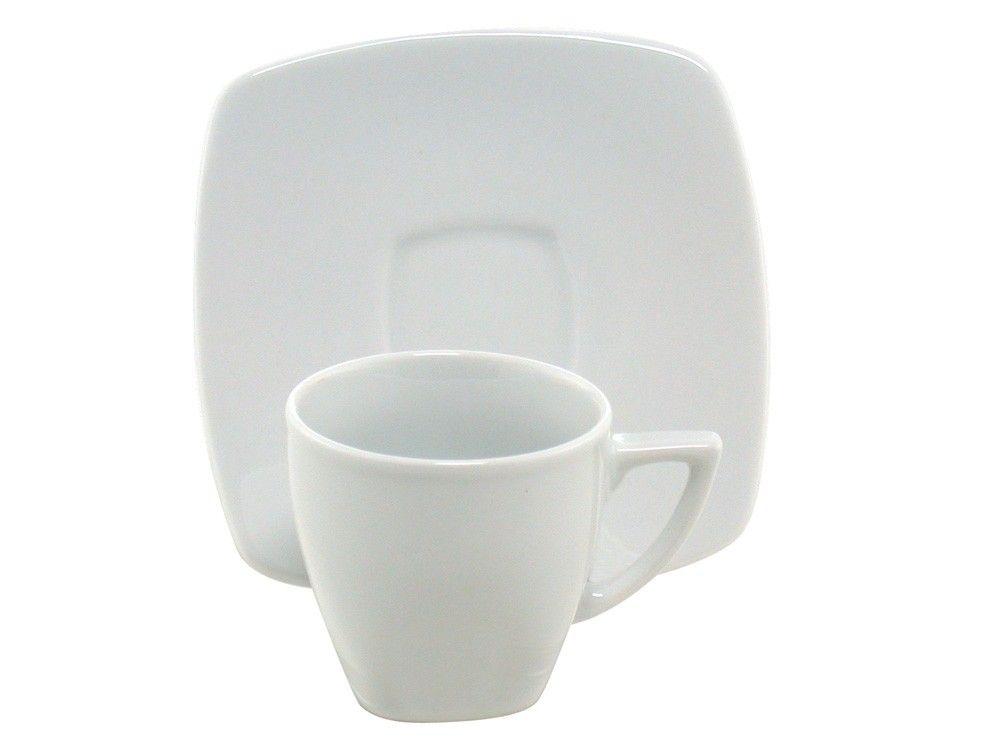 TAZZE  BIANCHE CAFFE' | Un'immagine del prodotto Set di 6 piattini coordinati con le tazzine ...