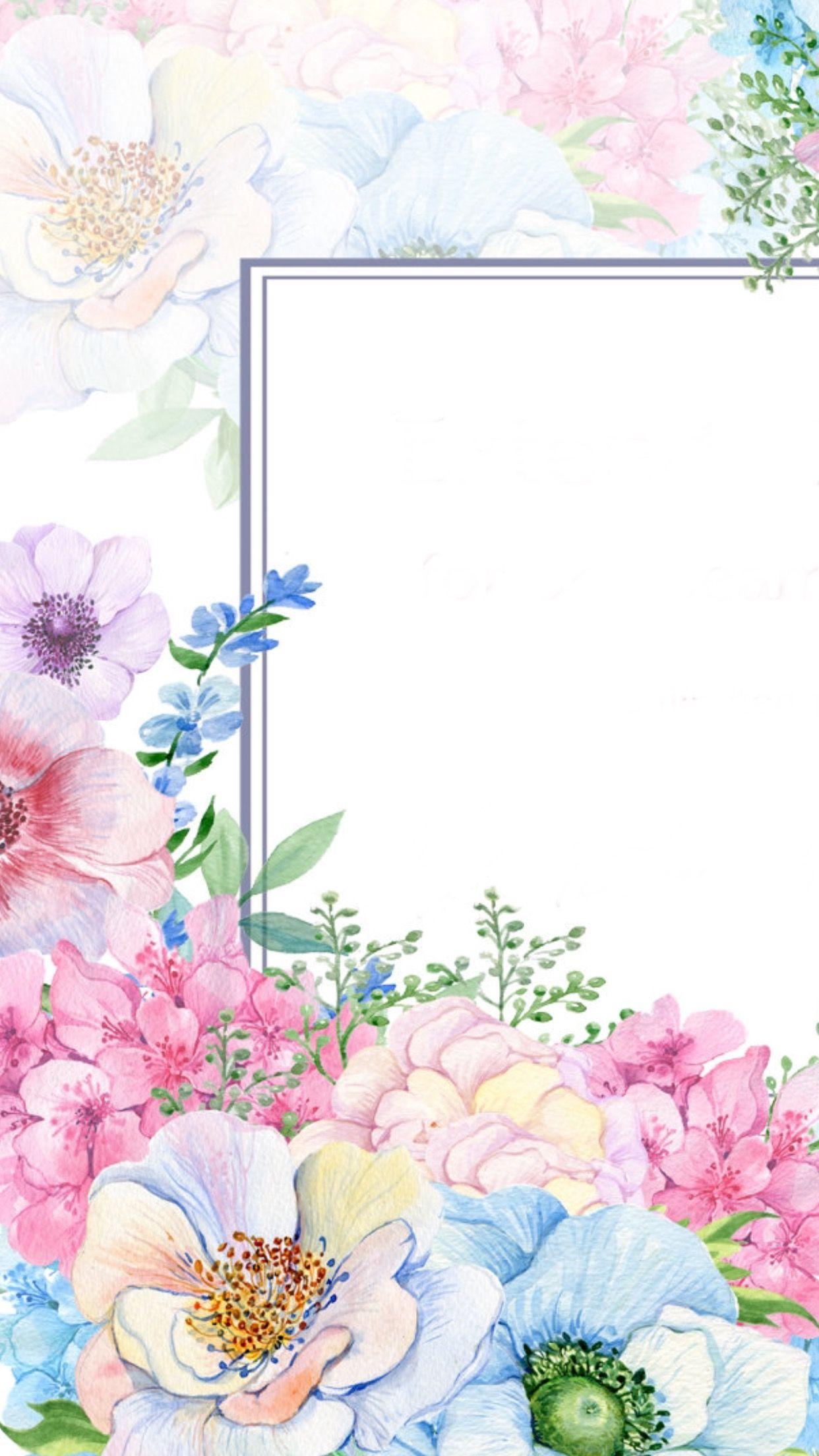 Pin By Marcela Modelli On Wallpapers Flower Background Wallpaper Flowery Wallpaper Art Wallpaper