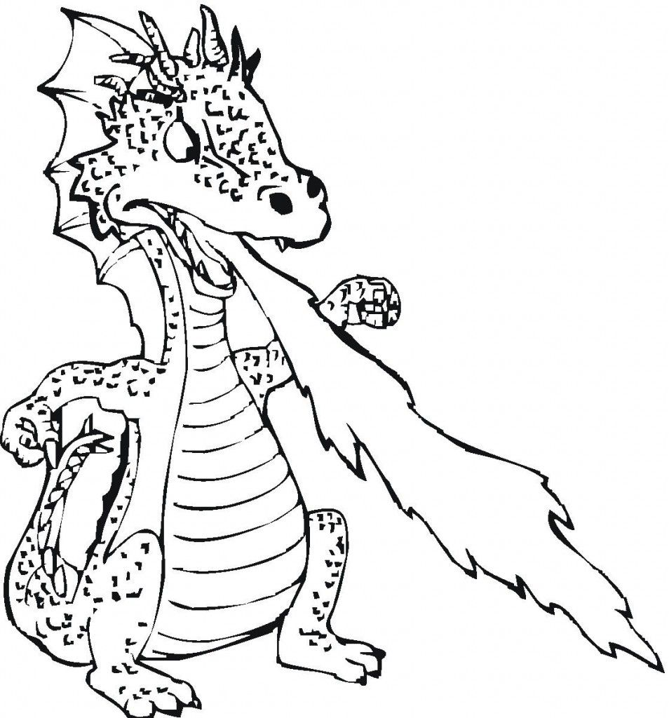 Free Printable Dragon Coloring Pages For Kids Dragons Dragon