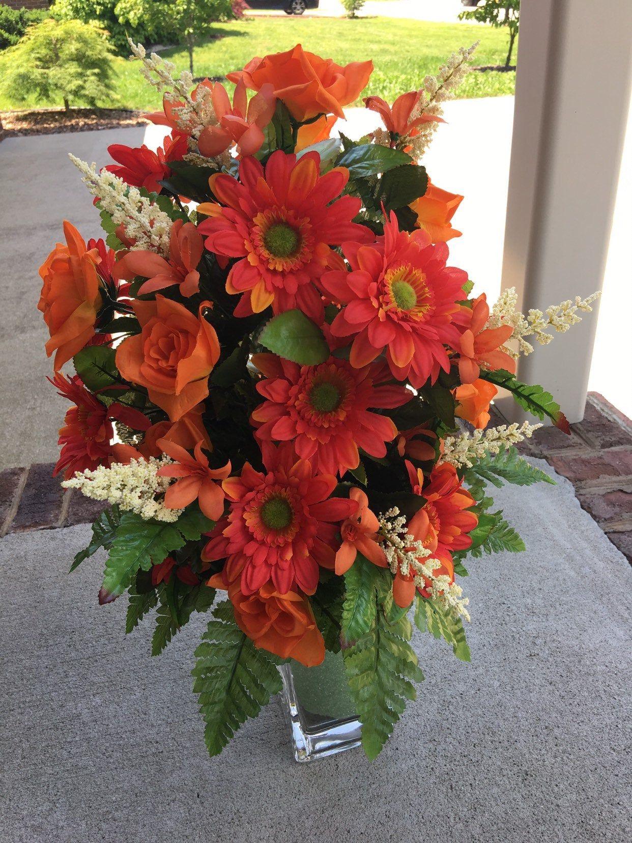 Cemetery flowerstyrofoam vase insertmemorial flower