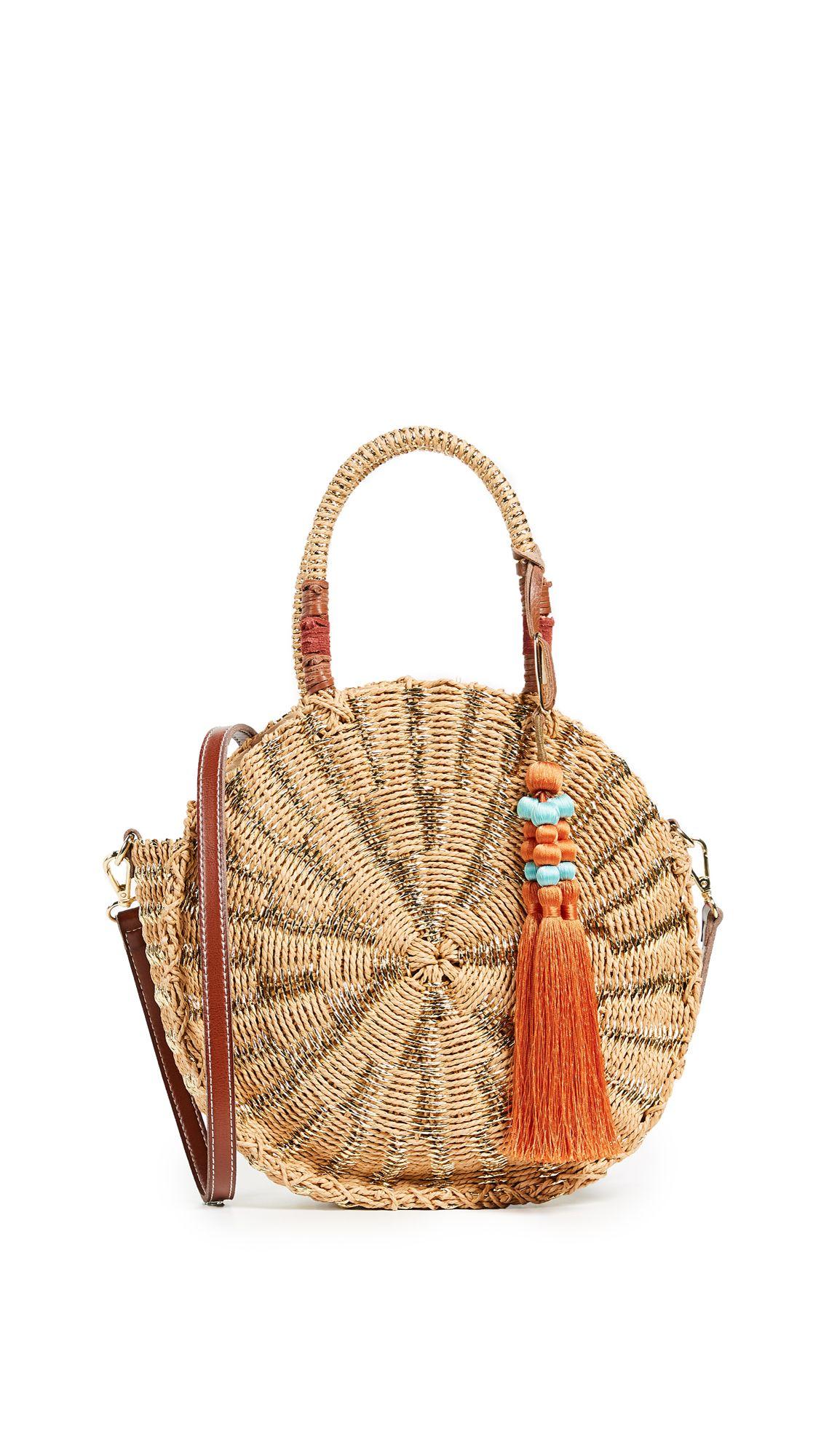 Sam Edelman Giuliana Round Straw Tote Samedelman Bags Shoulder Hand