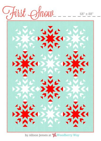 Image of First Snow A PAPER Pattern