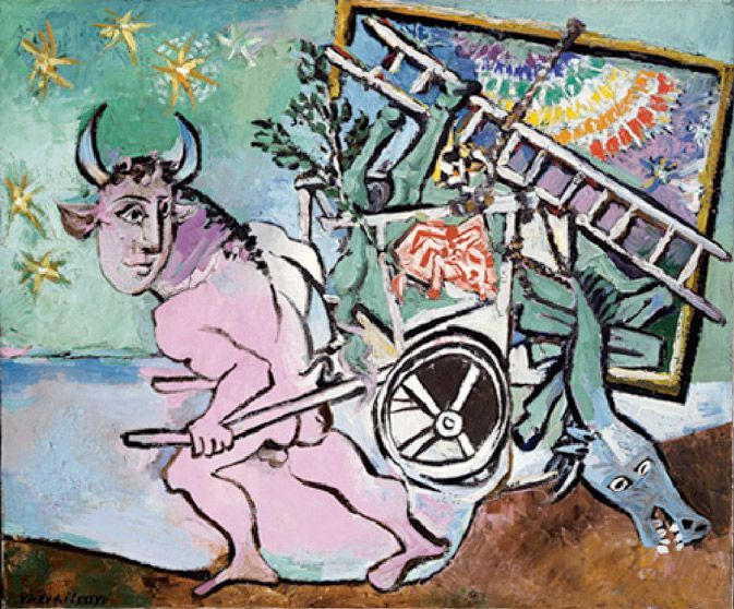 Image result for minotaur moving house picasso