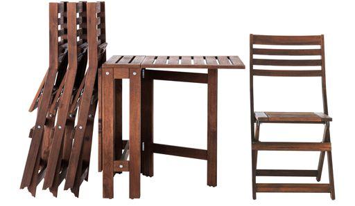 Outdoor Bistro Tisch Und Stühle IKEA | Couchtisch | Pinterest ...