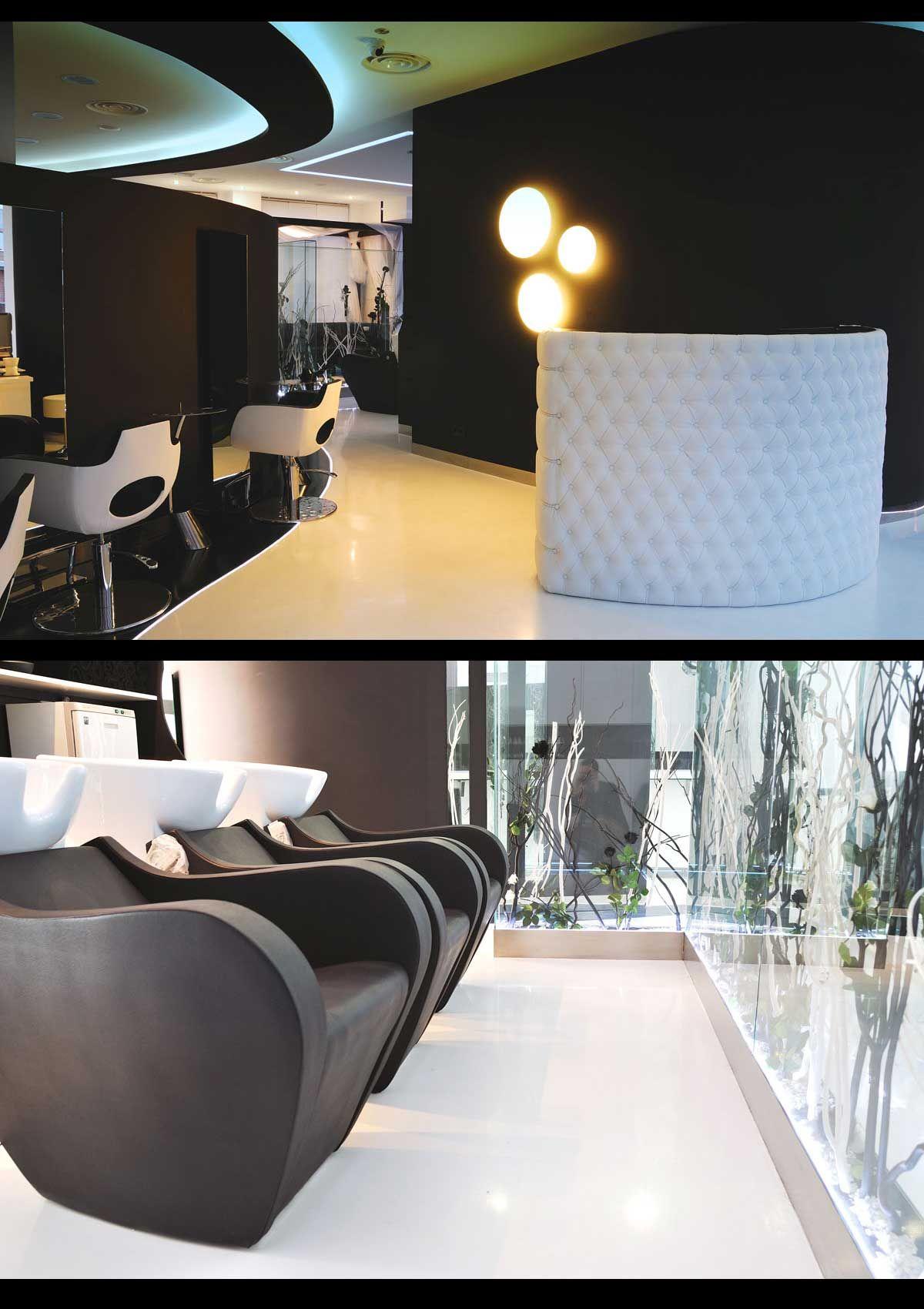 Salon Raquel Blanco Black And White L On Spain Salonideas  # Muebles Gamma San Juan